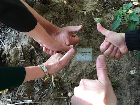 Foundation stone for ESoC SENF 2025 (Nuremberg Fürth Erlangen Schwabach)